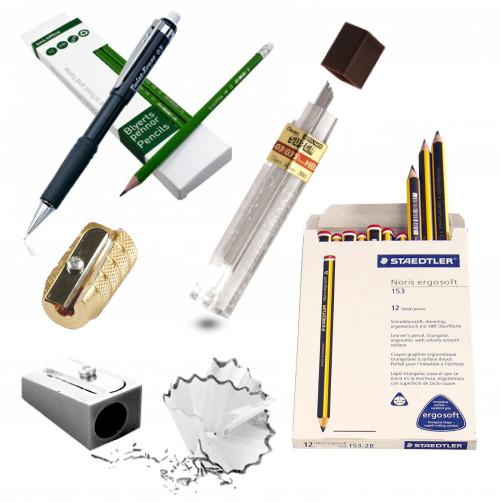 Blyanter, Pencils & tilbehor