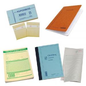 Regnskabshæfter & Kuponbøger